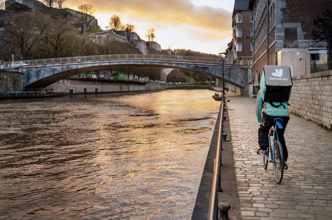 Dispositif de livraison de restaurants renforcé avec l'arrivée de DELIVEROO à Namur.