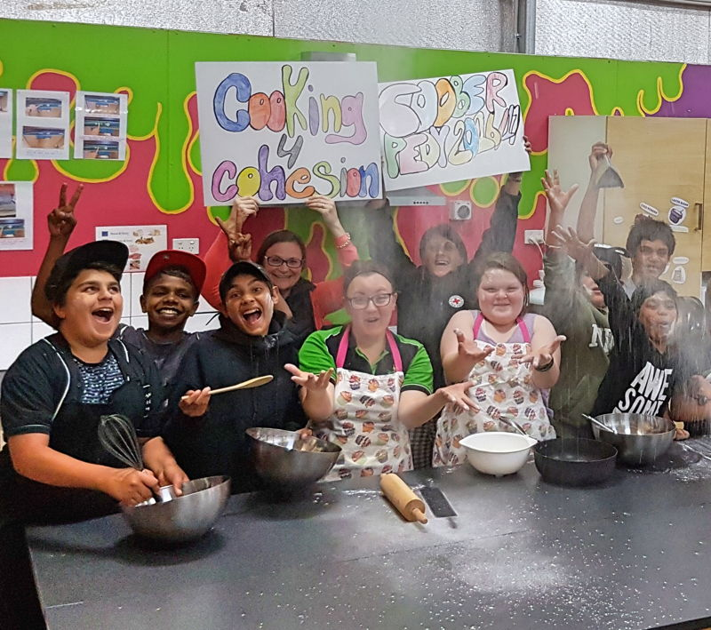 Coober Pedy are implementing Cooking for Cohesion