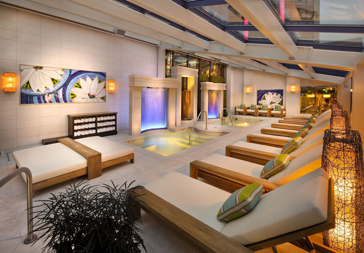 Spa Atlantis in Reno, Nevada. The same award-winning team is designing the spa at Monarch.
