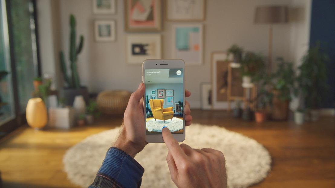 IKEA introduceert IKEA Place, een nieuwe app waarmee je virtuele meubels in je woning kan plaatsen