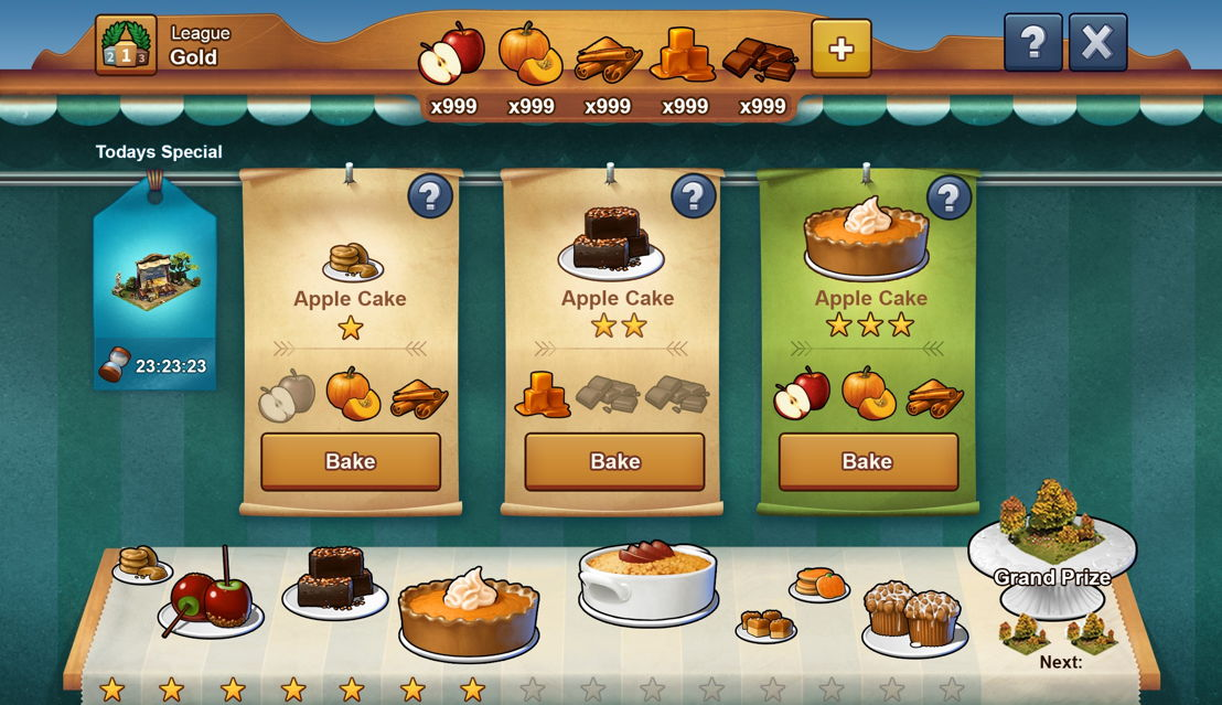 Forge of Empires Baking Contest