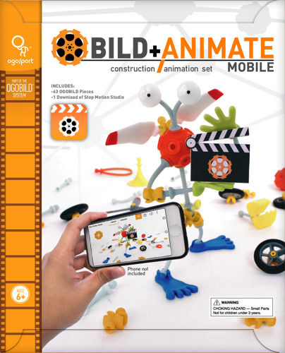 OgoSport Launches Mobile Version of Award-winning Stop-motion Animation Kit for Kids