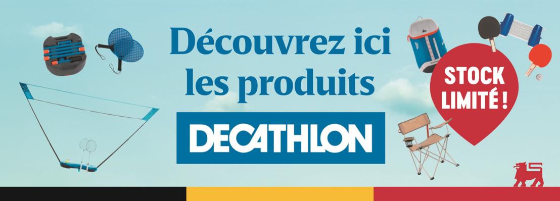 DELHAIZE RENFORCE SA COLLABORATION STRUCTURELLE AVEC DECATHLON
