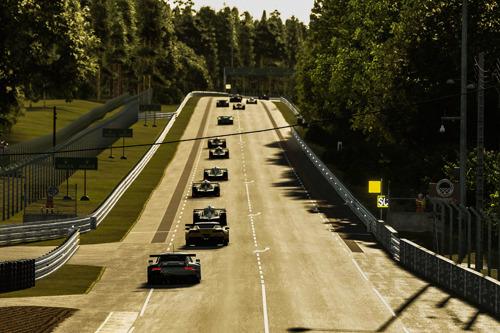 Race GTE, virtual 24 Hours of Le Mans, France