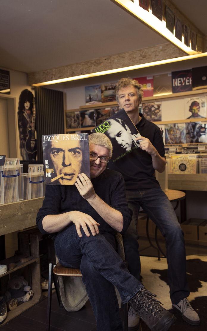 Jan Delvaux en Jimmy Dewit - (c) Jef Boes