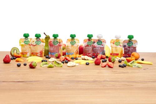Des fruits à tout moment: Nutricia présente les nouvelles gourdes de fruits Olvarit