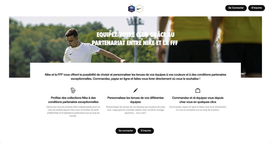 Emakina accompagne Nike et la FFF dans un projet unique au monde pour se rapprocher des clubs de football amateurs