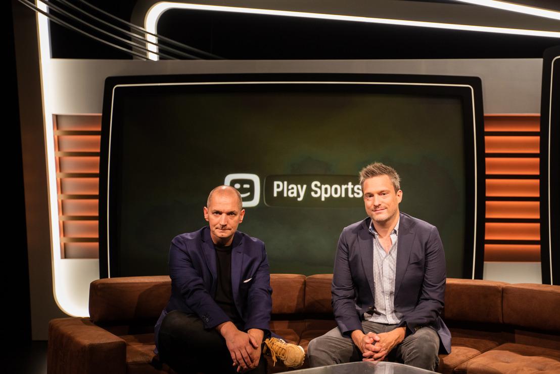 Play Sports pakt uit met Karl Vannieuwkerke, Gilles De Coster en een nieuwe reeks Belga Sport