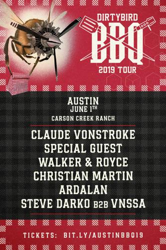 DIRTYBIRD Announces 2019 BBQ Tour Lineups