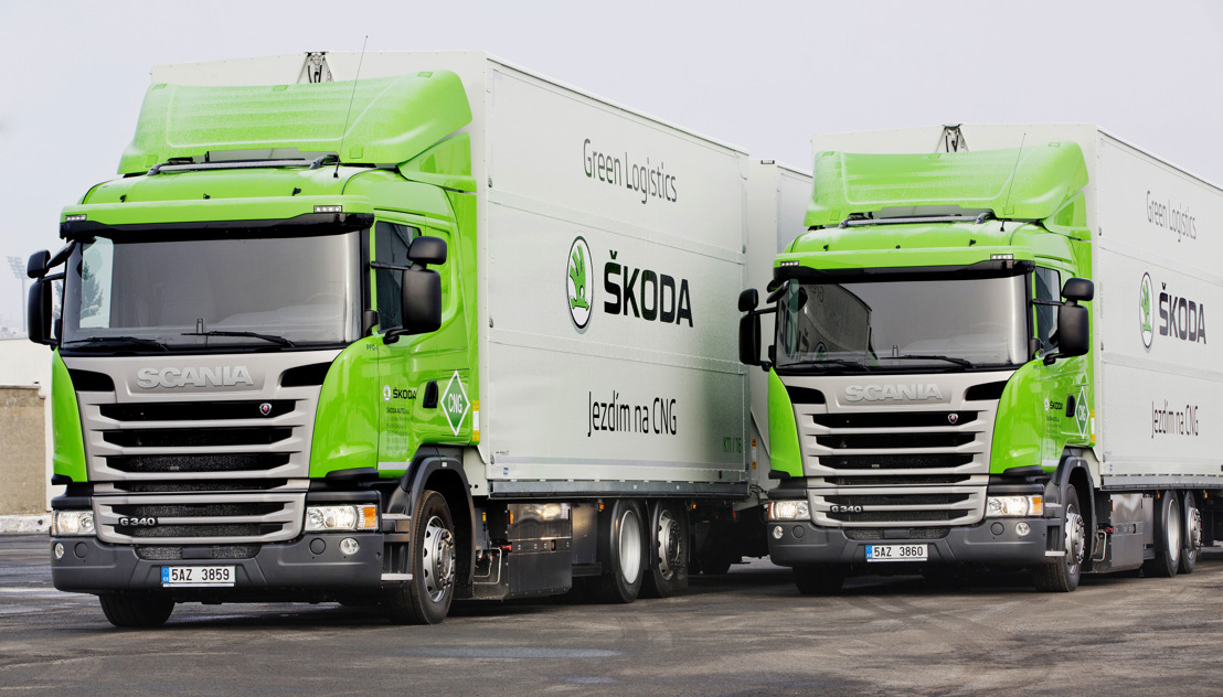 ŠKODA focuses on environmentally friendly solutions for transport and logistics