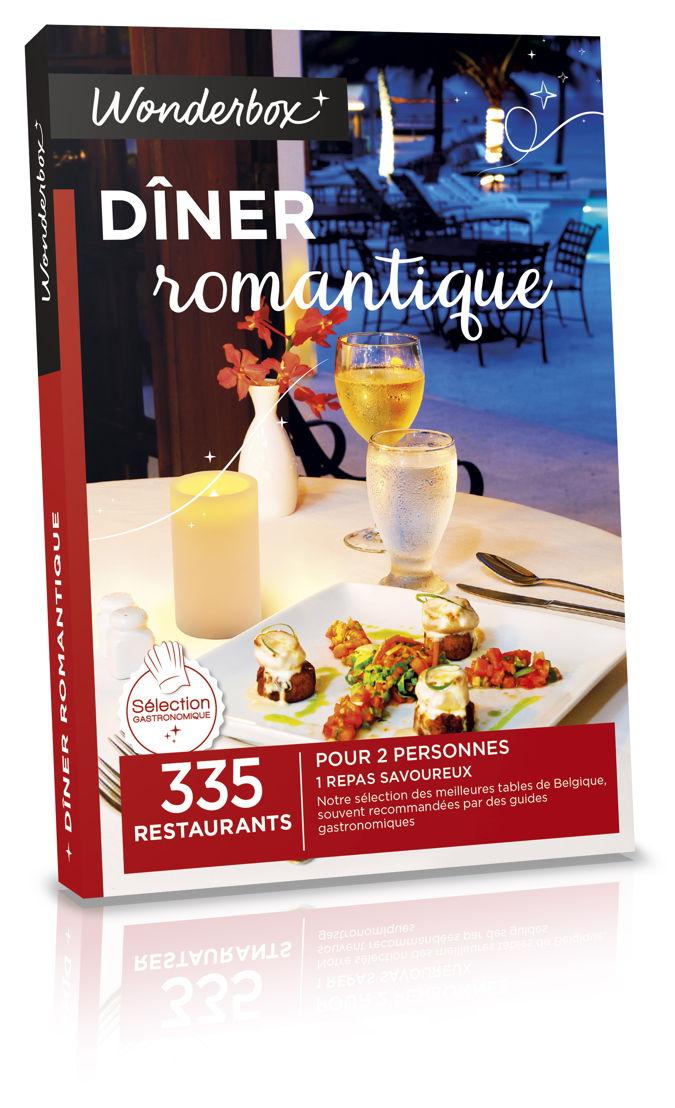Wonderbox Diner Romantique 59,90€
