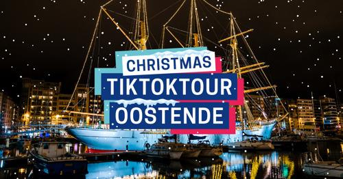 Oostende pakt uit met Christmas TikTokTour