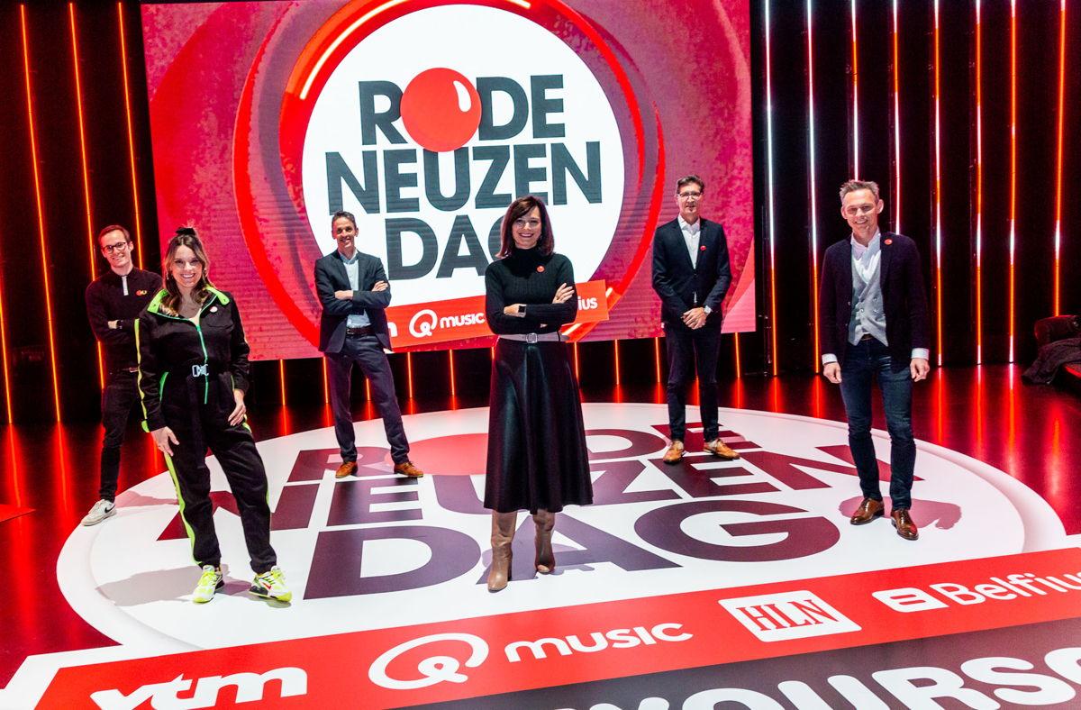 Vincent Fierens, Jolien Roets, Kris Vervaet, Birgit Van Mol, Dirk Lodewyckx en Olivier Onclin