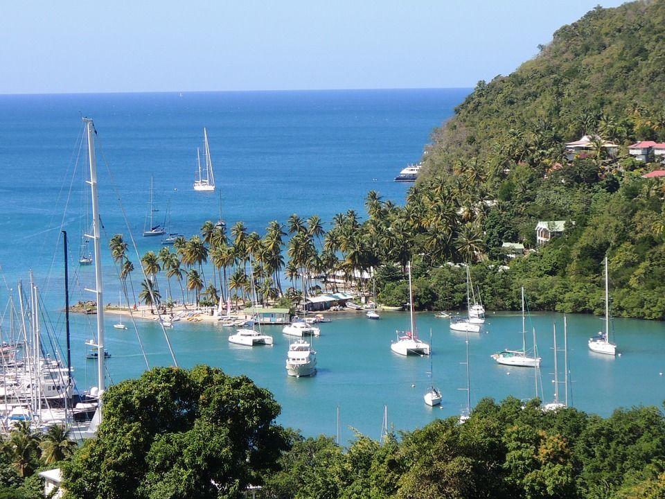 Marigot Bay. Saint Lucia