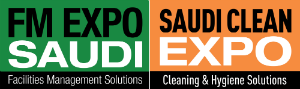 FM EXPO Saudi and Saudi Clean Expo press room Logo
