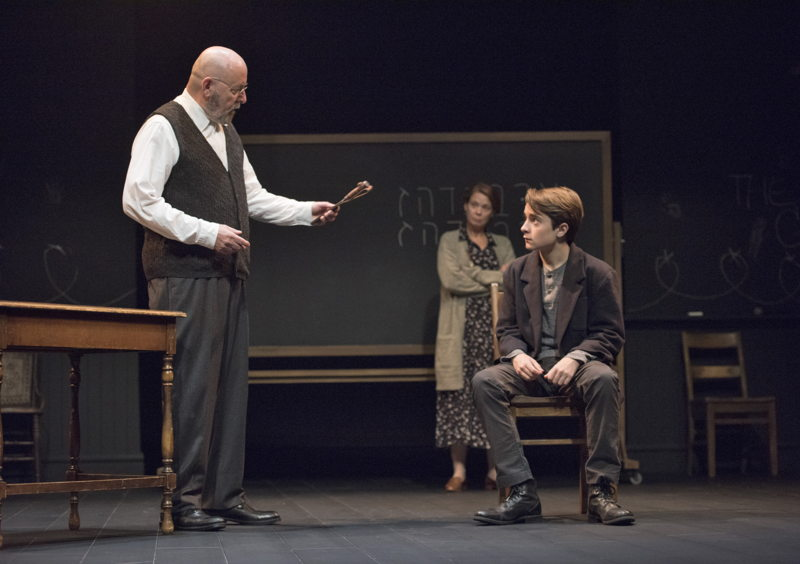 Paul Rainville, Kerry Sandomirsky and Zander Eke in The Children's Republic by Hannah Moscovitch / Photos by David Cooper