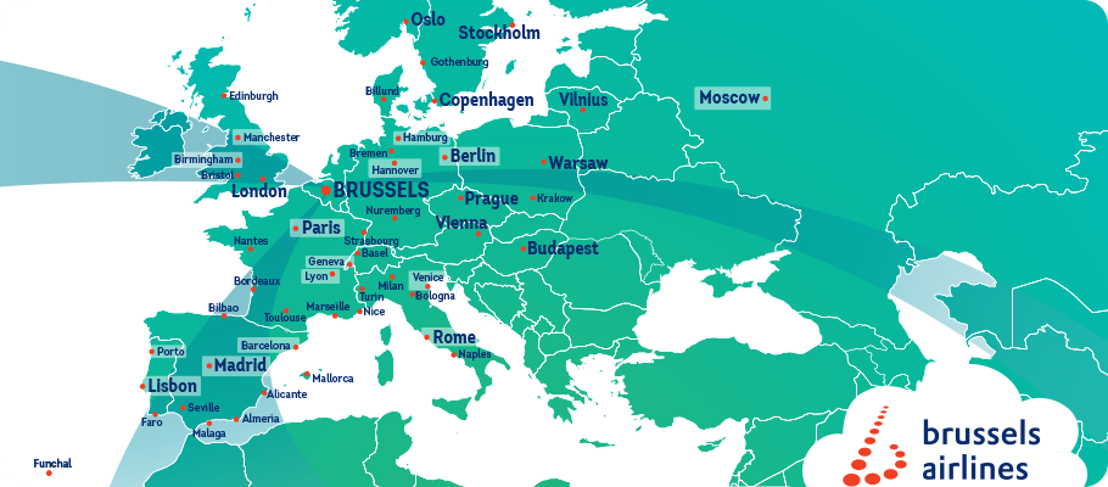 Brussels Airlines welcomes winter season with ten new destinations
