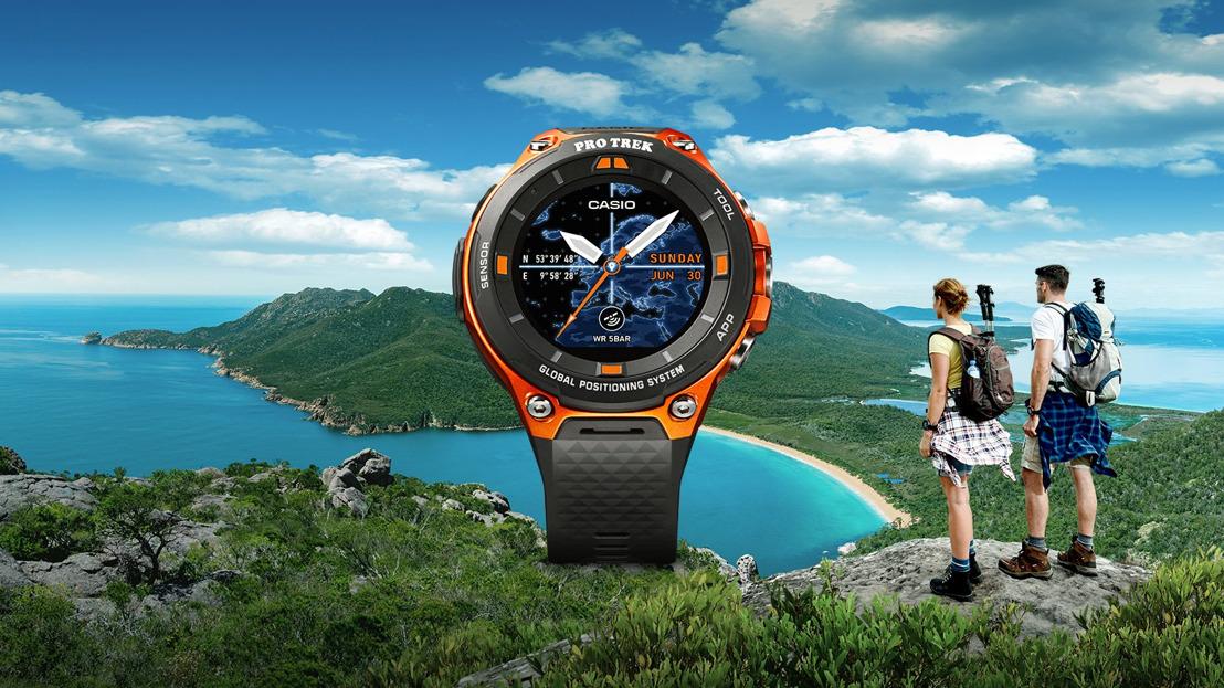 Conoce al PRO TREK WSD-F20, el smartwatch de CASIO que te asiste en la aventura