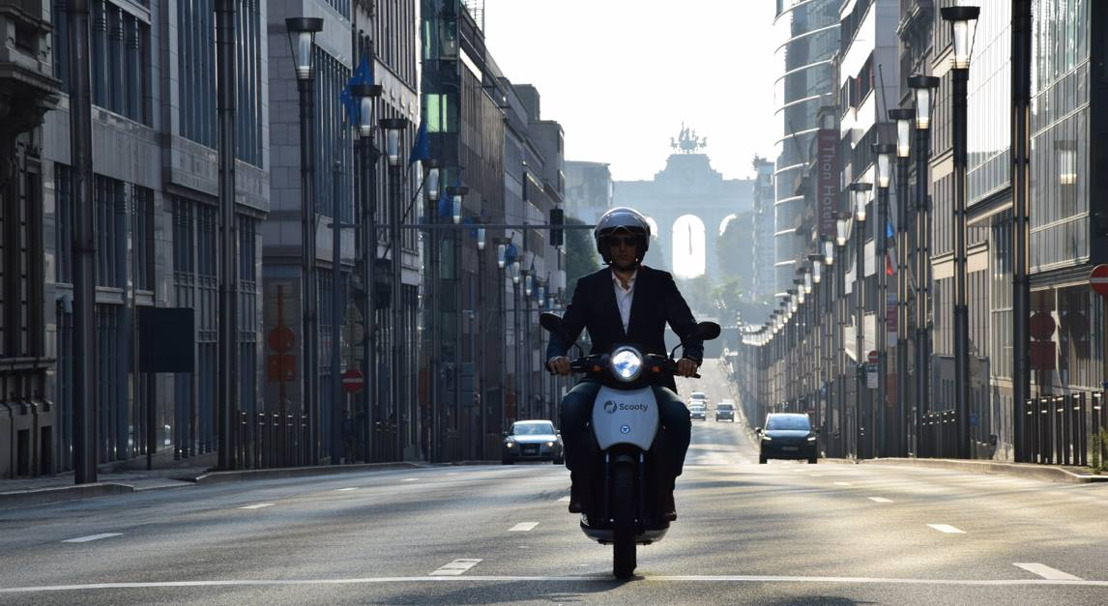 PERSUITNODIGING: Elektrische deelscooters van Scooty komen naar Antwerpen