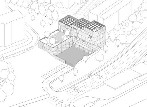 Demande de permis d'urbanisme pour la nouvelle caserne des pompiers à Delta