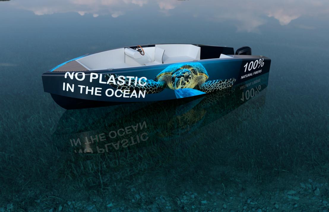 ECO2boats bouwt 's werelds eerste circulaire speedboot met 100% natuurlijke vezels