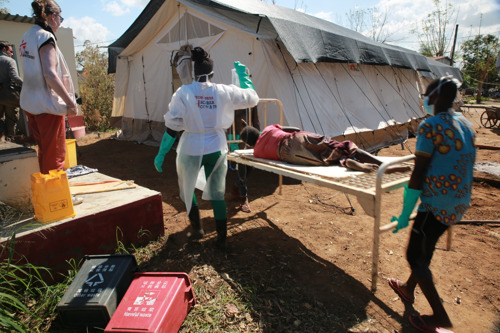 Update: Emergency response to cholera in Mozambique