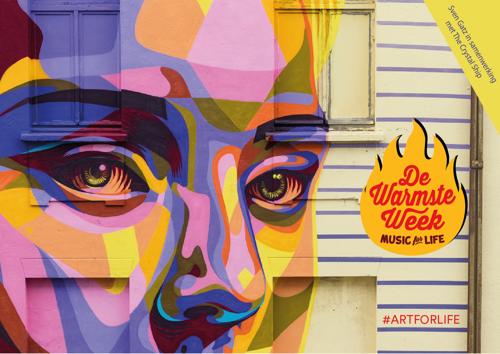 #Artforlife: Sven Gatz en The Crystal Ship in actie voor De Warmste Week
