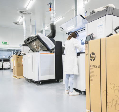 HP Opens New 150,000 Square Foot 3D Printing and Digital Manufacturing Center of Excellence