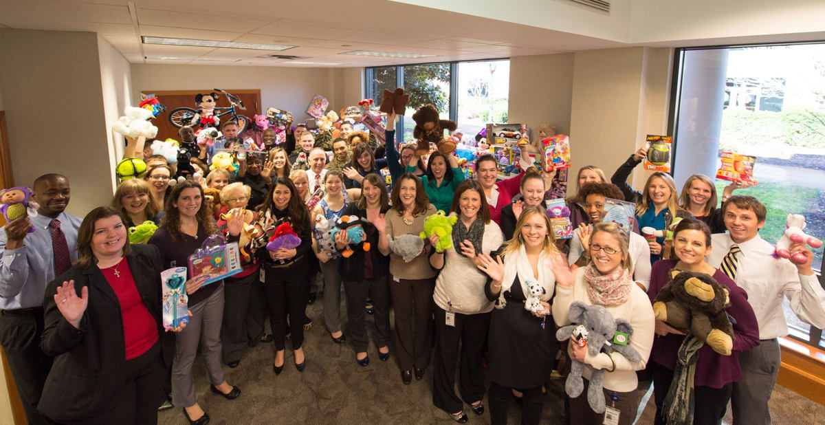 6,500 toys donated through Project Holiday Joy campaign.