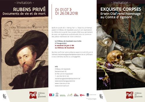 Inauguration et visite de press expositions Rubens privé & Exquisite Corpses