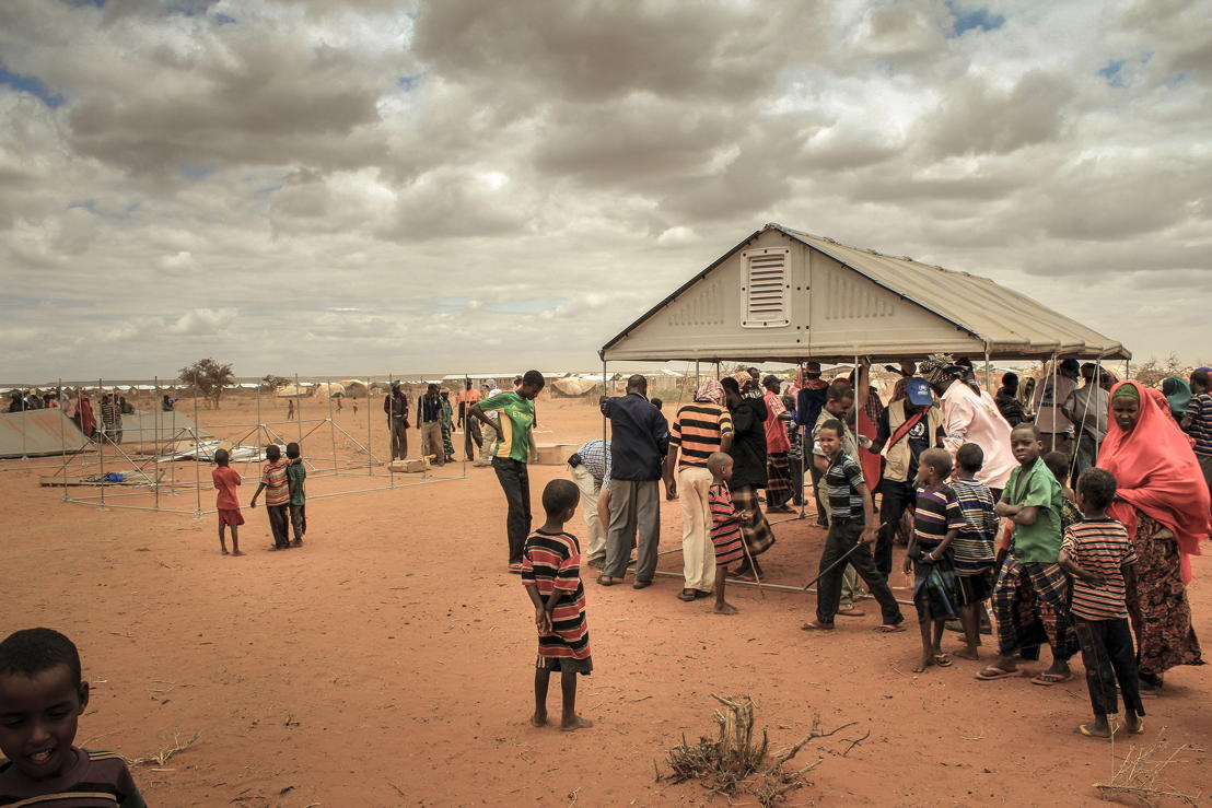Hilawyen Refugee camp, Dollo Ado, Ethiopia, July 2013 ©  R. Cox