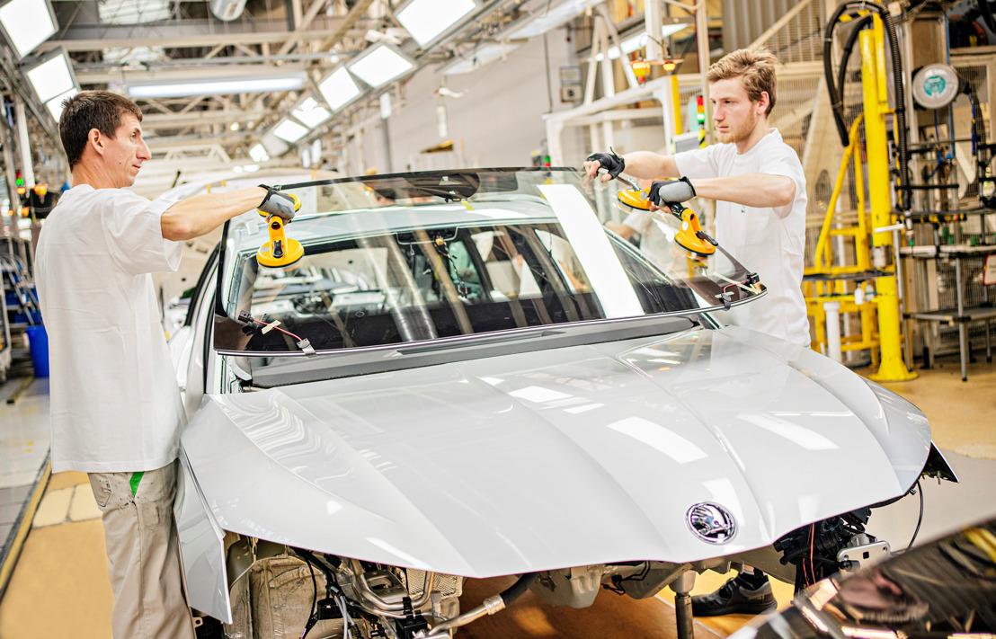 Production of new ŠKODA OCTAVIA begins at main plant in Mladá Boleslav