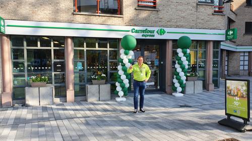 Een Carrefour Express 'nieuwe generatie' opent haar deuren op de Grote Markt van Moeskroen