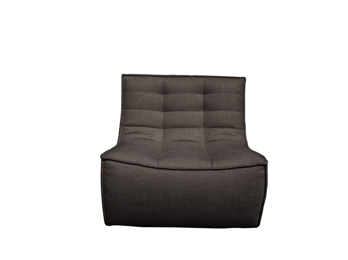 N701 Sofa - 1 seater -  Dark Grey