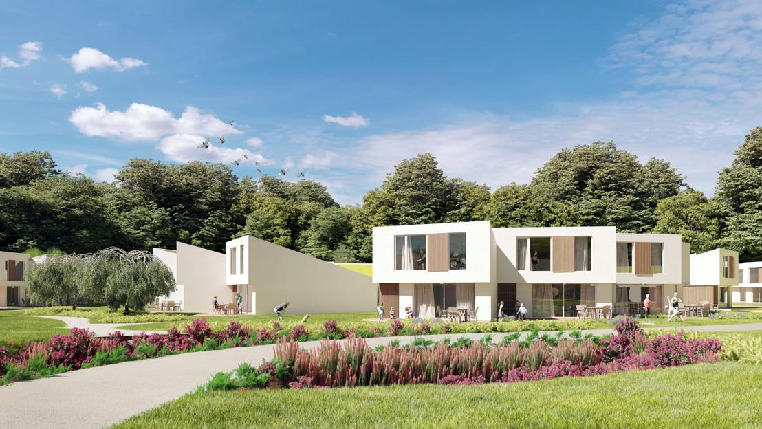 Le parc de vacances le plus durable de Belgique accueillera ses premiers clients le 15 octobre