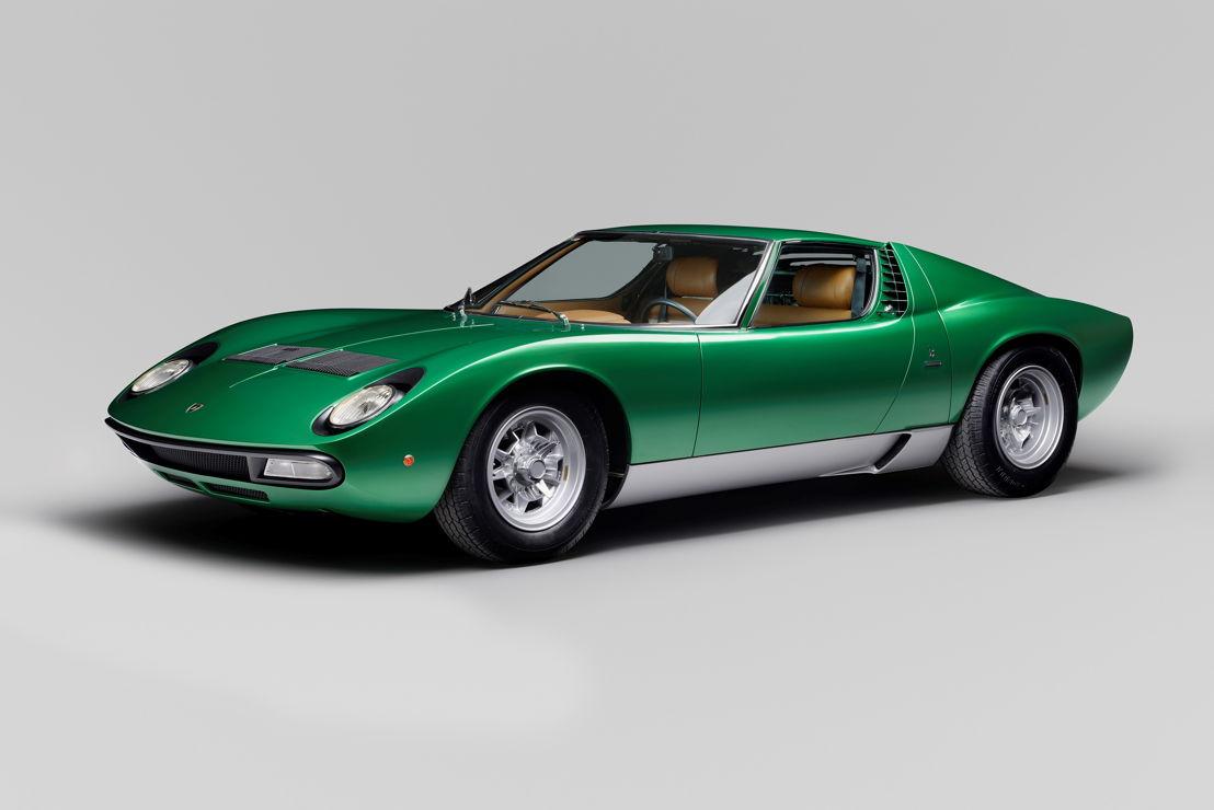 1971 Lamborghini Miura P400 SV Coupé by Bertone Goodwood Cartier Style et Luxe Concours d'Elegance