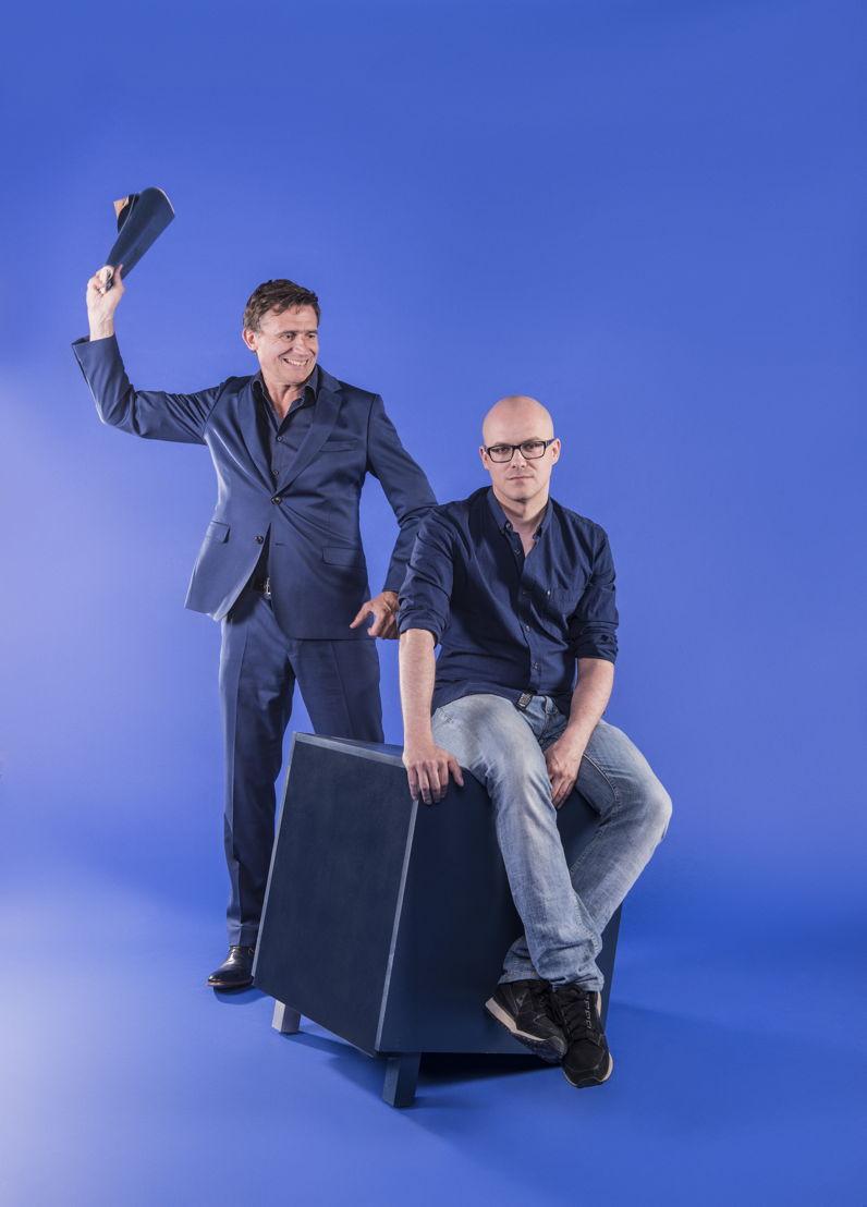 De Slimste Mens ter Wereld - Erik Van Looy en Philippe Geubels