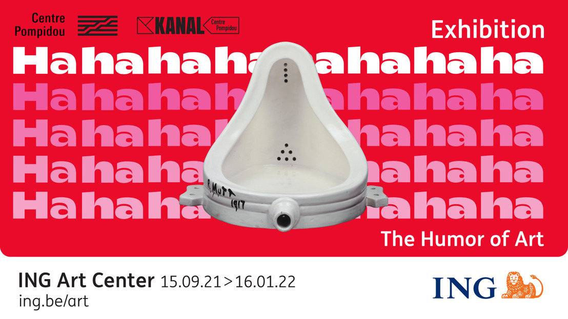 New exhibition at the ING Art Center: Hahaha. The humor of Art