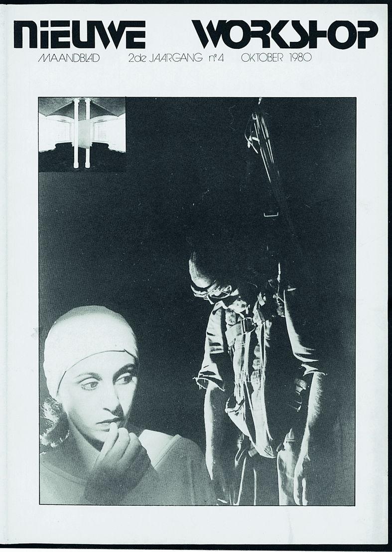 Nieuwe Workshop, programmakrant oktober 1980. De cover is gewijd aan<br/>Asch, het debuut van Anne Teresa De Keersmaeker