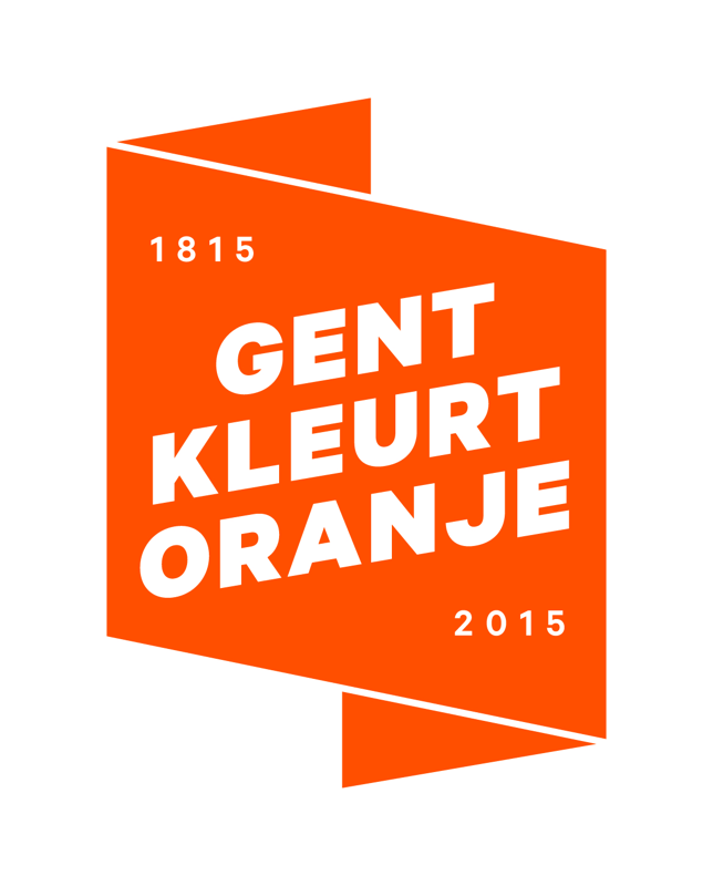 logo Gent Kleurt Oranje