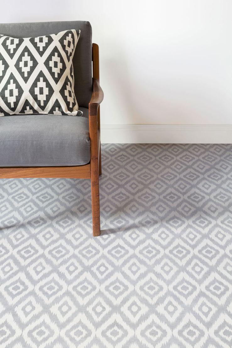 Ikat | Tie Dye Pattern Flooring