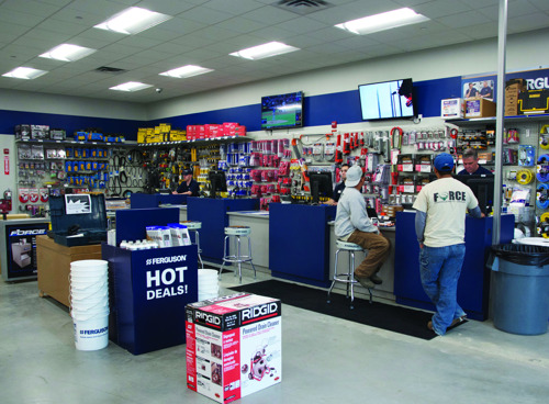 Ferguson customers and vendors get in the game