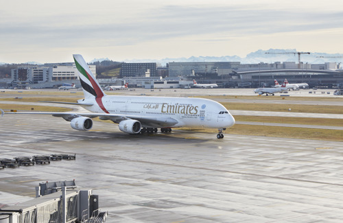 Emirates Launches a Second Daily A380 Service to Zurich
