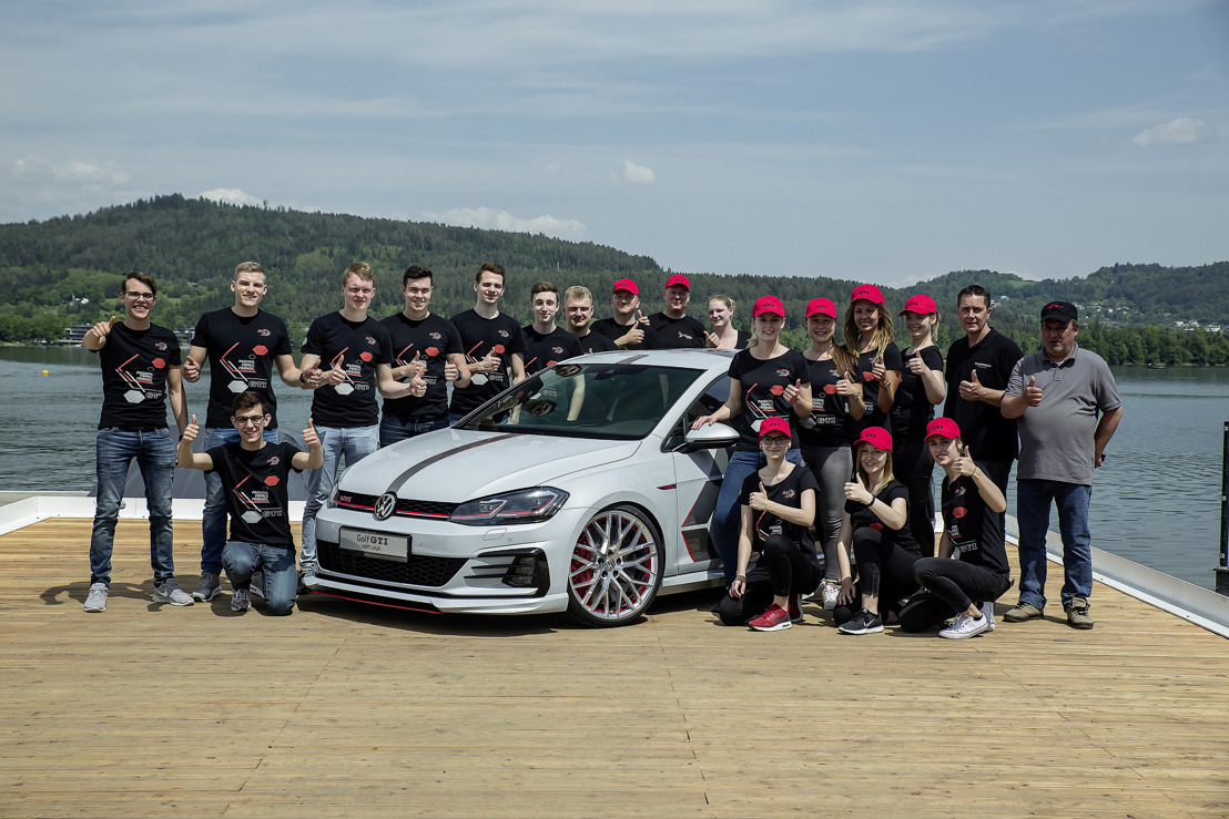 Dubbele première op het GTI-Treffen: stagiairs uit Wolfsburg en Zwickau stellen eigenhandig ontwikkelde Golf-conceptcars voor