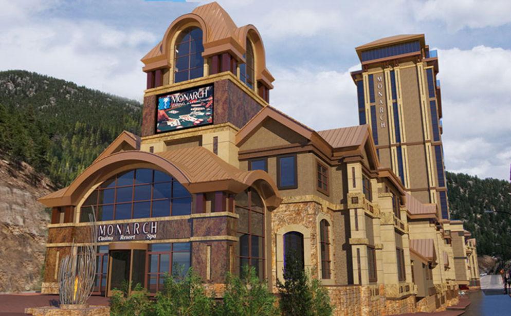 Artist rendering of updated Monarch Casino Resort Spa