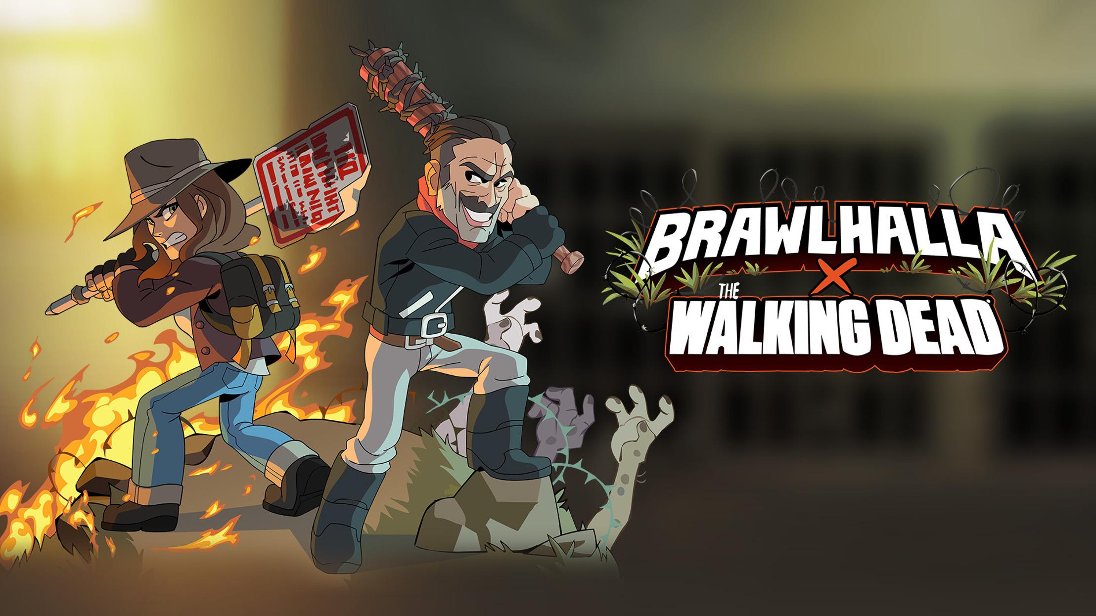 Preview: THE WALKING DEAD-CHARAKTERE NEGAN UND MAGGIE KOMMEN AM 22. SEPTEMBER NACH BRAWLHALLA®