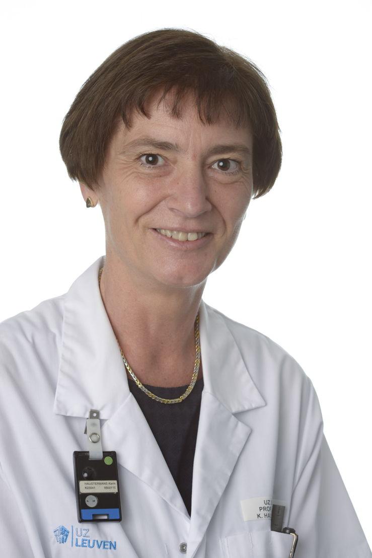 Diensthoofd radiotherapie-oncologie prof. dr. Karin Haustermans