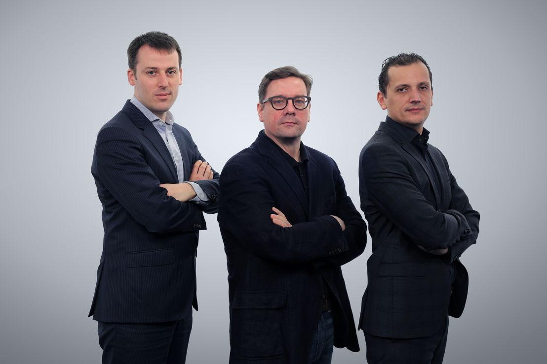 Frédéric Desonnay, Brice Le Blévennec and Karim Chouikri