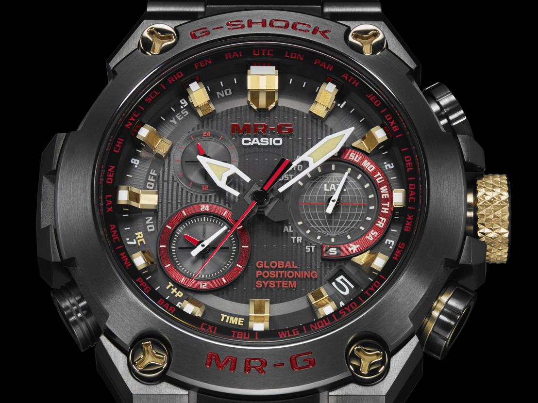 G-Shock MR-G, incorporando la belleza y la fuerza de su tradición