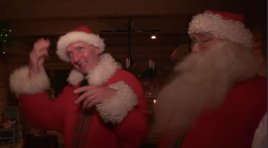 De Meilandjes maken het huis van de kerstman onveilig